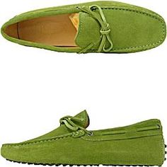 Tods-got the grey ones for Christmas... Now I want the green.
