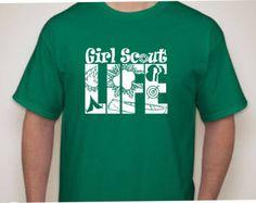 Girl Scout Life T-shirt-Girl Scout Shirt Girl Scout Shirts, Girl Scout Badges, Brownie Girl Scouts, Girl Scout Cookies, Girl Scout Leader, Girl Scout Troop, Dad To Be Shirts, Shirts For Girls, Girl Scout Camping
