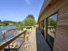 Brompton Lakes is a stunning collection of luxury lakeside bedroom lodges in Yorkshire. Enjoy the unique design of this eco-friendly holiday retreat! Lakeside Lodge, Deck Over, Uk Holidays, Brompton, North Yorkshire, Decking, Lodges, Eco Friendly, Luxury