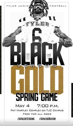 Spring Football social media graphics for Tyler Junior College; Spring Football, Junior College, Social Media Graphics, Design, Design Comics