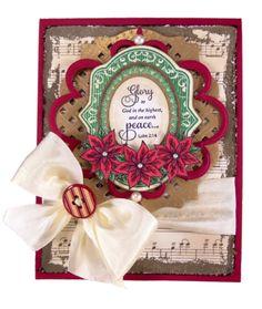 Joy to the World Christmas Card designed by Sheri Holt