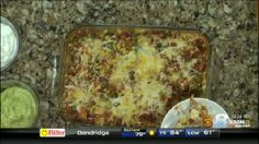 Healthy Mexican Casserole with Roasted Corn and Peppers Wednesday August 12,