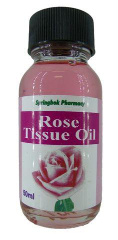 SPRINGBOK TISSUE OIL ROSE 50ML Pharmacy, Oil, Apothecary