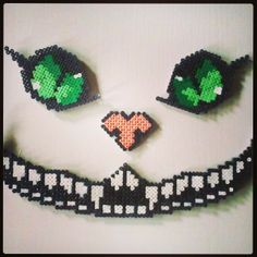 Cheshire Cat hama beads by diegowop_hamawop_shop