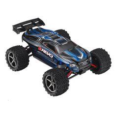 Traxxas E-Revo 4WD 1/16 Scale RC Car (7105) - Blue/Black