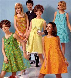 Fotos originais da moda anos 60 - Confira os melhores looks e roupas dos anos 60