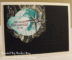 Artistic Embellishments: Going Global: You mean the World to ME!