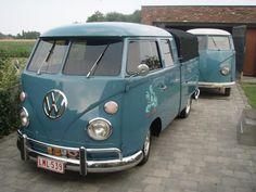 T1 VW Bus double cab pick up vintage