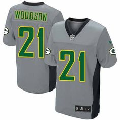 low priced 06364 57e23 Packers Charles Woodson Nike Jersey Sale – Elite $129 ...