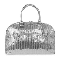 Trumpette Large Schleppbags Diaper Bag in Silver Sequin - BedBathandBeyond.com