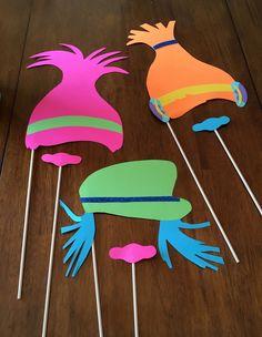 Trolle basteln mit Kindern - 12 kreative Ideen von den Trolls inspiriert