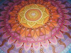 Sunmandala with Flower of Life symbol Je 2017 (C) http://sunmandalas.webnode.hu/