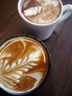 coconut lattes.