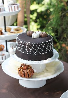 Gorgeous pumpkin cake