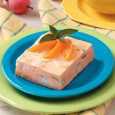 Apricot Delight Recipe One serving equals 178 calories, 3 g fat (3 g saturated fat), 1 mg cholesterol, 303 mg sodium, 31 g carbohydrate, 1 g fiber, 4 g protein. Diabetic Exchanges: 1 starch, 1 fruit, 1/2 fat.