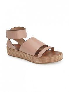 Matisse Coconuts by Matisse Junior Ankle Strap Sandals // Ankle strap platform sandal in Blush