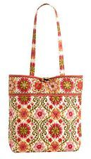 Folkloric classic tote from Vera Bradley.