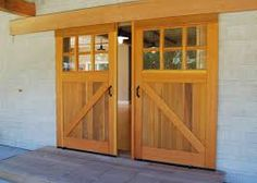 Image result for exterior and interior barn doors