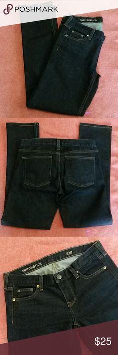 J. Crew Matchstick 27 S dark wash jeans Excellent condition. Inseam measures 29 inches. J. Crew Jeans Straight Leg