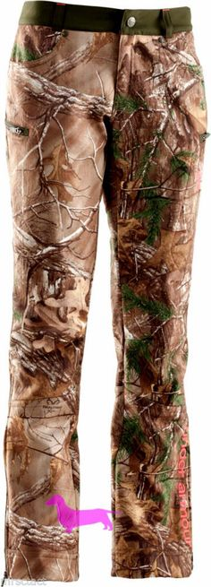 Under Armour Camo Ridge Reaper Cold Gear Scent Control Fitted Women's Pants Hunt #UnderArmour #PantsTightsLeggings