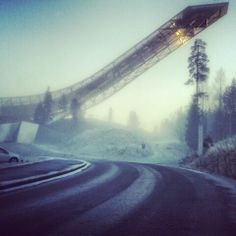 Skocznia w Holmenkolen Polecamy wycieczki do Norwegii
