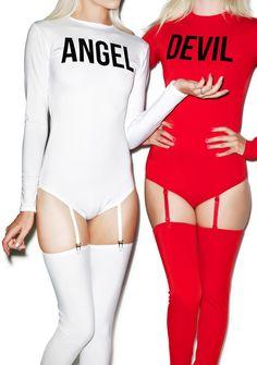 Angel Baby Bodysuit Set