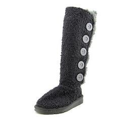 NWOB Muk Luks Malena Womens Textile Fashion Mid-Calf Boots size 7