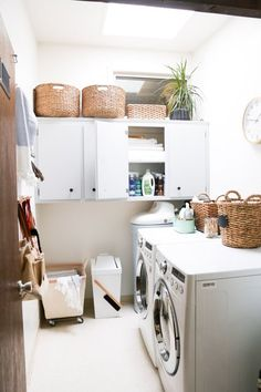 Beautifully Organized: Laundry Rooms