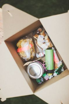 So fun! Boxed lunch