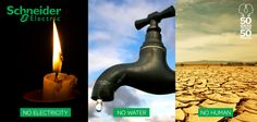 What would happen if electricity just stopped? No electricity, no treatment works or water pumps, therefore no clean water. We could be in serious trouble as humans can only last three days without water. What do you think?