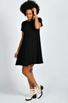 Hetty Short Sleeve Swing Dress