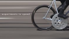 DONHOU BICYCLES | EXPERIMENTS IN SPEED