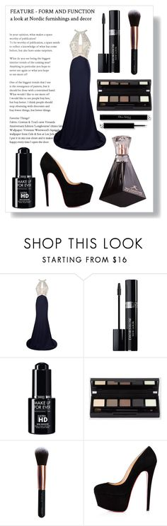 """""""Women's magazine"""" by annawell-1 ❤ liked on Polyvore featuring Christian Dior, M.O.T.D Cosmetics and Christian Louboutin"""