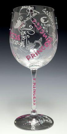 Princess wine glass