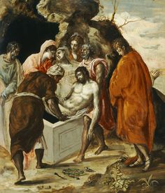 Christ on the cross with two Maries and St. John - El Greco - WikiArt.org