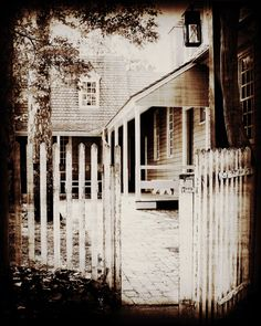 Williamsburg Black White Door Gate Window Rustic Print 3 Colonial Historic Landscape Architecture Tranquil Picture Photo Print 8 x 10 by Concepts2Canvas on Etsy