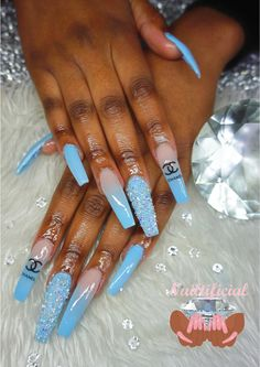 Bling Acrylic Nails, Drip Nails, Best Acrylic Nails, Summer Acrylic Nails, Bling Nails, Pastel Nails, Stiletto Nails, Dope Nail Designs, Cute Acrylic Nail Designs