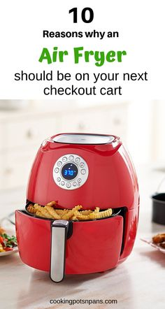 Air fryers create tasty and healthy meals by circulating hot air around the food using convection. Here are 10 reasons why you should get an air fryer Kitchen Work Station, Air Fried Food, Cooking Appliances, Kitchen Appliances, Kitchen Must Haves, Kitchen Tools And Gadgets, Kitchen Items, Healthy Meals To Cook, Air Fryer Recipes