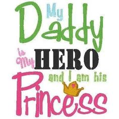 I'm the Queen to him but I will always be my daddy princess! Welcome Home Soldier, Welcome Home Daddy, Welcome Home Signs, Miss My Daddy, I Love My Son, Love You, Daddy Daughter, Embroidery Applique, Machine Embroidery
