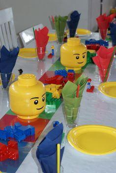 Den kreative husmor: Lego-bursdag