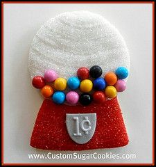 Gumball Machine (Engagement Ring Cookie Cutter)