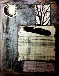 """Seeing Endlessness"" www.laurierichardsoncreates.wordpress.com www.facebook.com/laurierichardsoncreates Collage Art Mixed Media, Wordpress, Celestial, Facebook, Painting, Outdoor, Outdoors, Painting Art, Paintings"