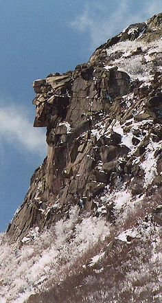 Old Man of the Mountain How I miss this image...