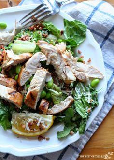 Gluten-Free Grilled Chicken Caesar Salad Recipe