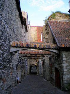 St. Caterina passage - Tallinn, Estonia