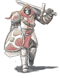 Warforged Knight by Will-E-H