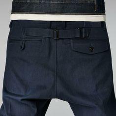 G-Star RAW - Correct Belt Pant - Men - Pants Dark Jeans, Denim Jeans, Jeans And Flats, Denim Branding, Dapper Men, Denim Fabric, Menswear, Chill, Men Pants