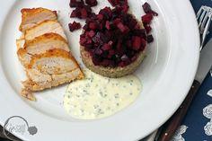 Quinoa mit Hühnchen und fruchtiger roter Beete - Rezept auf www.ge-sagt.de