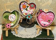 crafty goodies: Try It Tuesday~ heart tart tins, different!!!