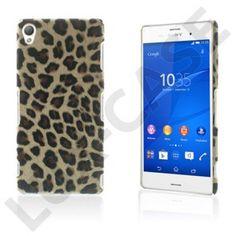 Nature (Leopard) Sony Xperia Z3 Läderbelagt Skal